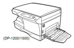 Thumbnail TOSHIBA DP1200, DP1500 DIGITAL PLAIN PAPER COPIER Service Repair Manual