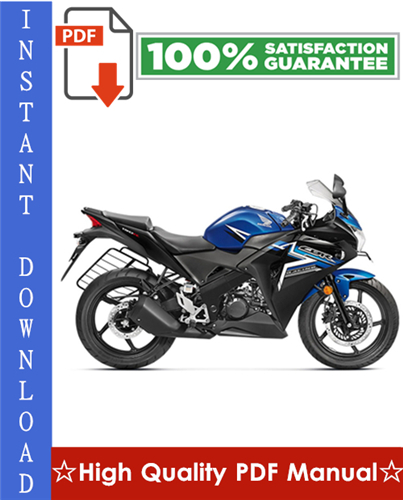 Thumbnail Honda CBR150R Motorcycle Workshop Service Repair Manual 2002-2003 Download
