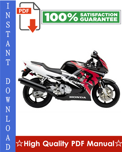 Thumbnail Honda CBR600F3 Motorcycle Workshop Service Repair Manual 1995-1998 Download