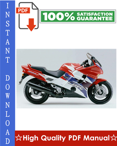 Thumbnail Honda CBR1000F Motorcycle Workshop Service Repair Manual 1992-1995 Download