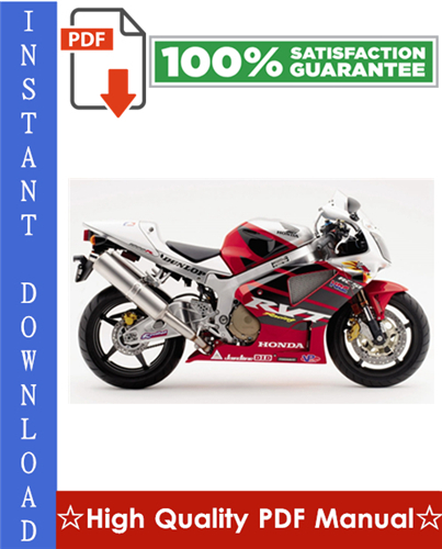 Thumbnail Honda RVT1000R RC51 Motorcycle Workshop Service Repair Manual 2000-2002 Download