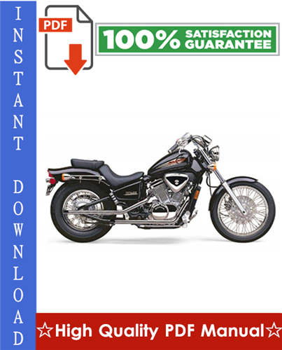 Thumbnail Honda VT600C / VT600CD Shadow Motorcycle Workshop Service Repair Manual 1997-2001 Download