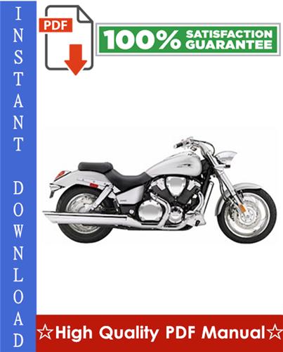 Thumbnail Honda VTX1800C Motorcycle Workshop Service Repair Manual 2002-2005 Download