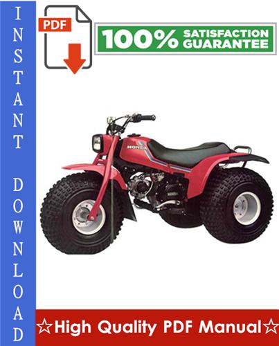 Thumbnail Honda ATC125M Workshop Service Repair Manual 1986-1987 Download
