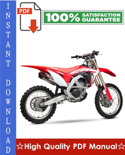 Thumbnail Honda CRF250R Workshop Service Repair Manual 2004-2009 Download