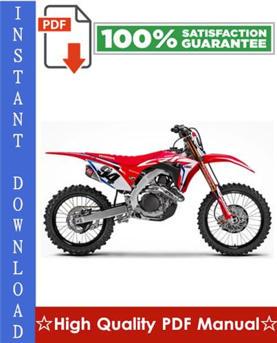 Thumbnail Honda CRF450R Motorcycle Workshop Service Repair Manual 2009-2010 Download