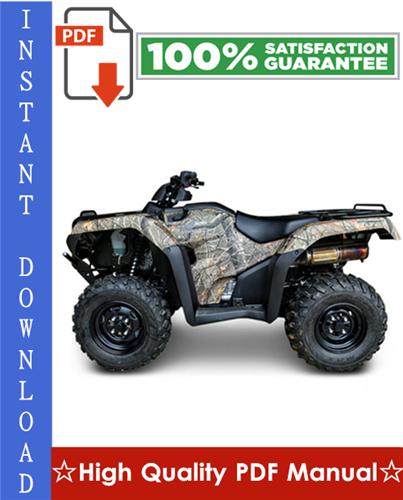 Thumbnail Honda TRX420 / TRX420FE / TRX420FM / TRX420TE / TRX420TM / TRX420FPE / TRX420FPM Fourtrax Rancher Workshop Service Repair Manual 2007-2010 Download