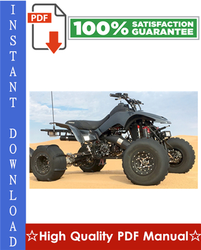 Thumbnail Honda TRX250R Fourtrax 250R ATV Workshop Service Repair Manual 1986-1989 Download