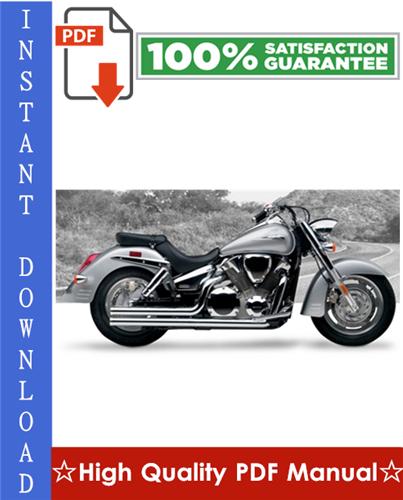 Thumbnail Honda VTX1300R / VTX1300S Motorcycle Workshop Service Repair Manual 2003-2007 Download